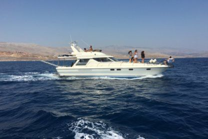 Miete Motorboot Princess Flybridge 45 Chios
