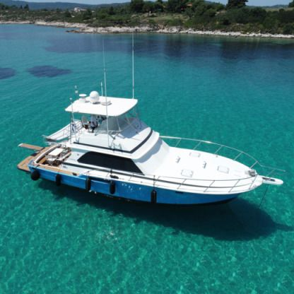 Charter Motorboat Bertram 46.6 Flybridge Chalkidiki