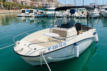 Charter Motorboat Quicksilver Activ 555 OPEN Alicante