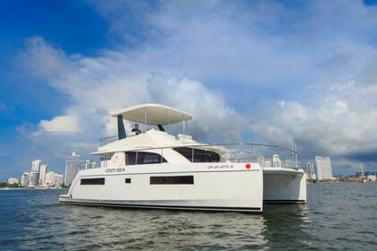 Rental Catamaran Leopard 43 Cartagena