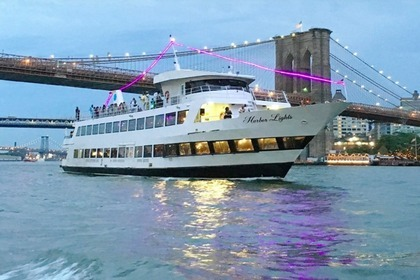 Charter Motorboat Party mega yacht 180ft New York