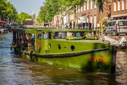 Hire Motorboat Custom Luxe Salonboot Dyos Amsterdam