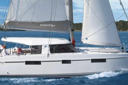 Hire Catamaran NAUTITECH 40 OPEN Kotor