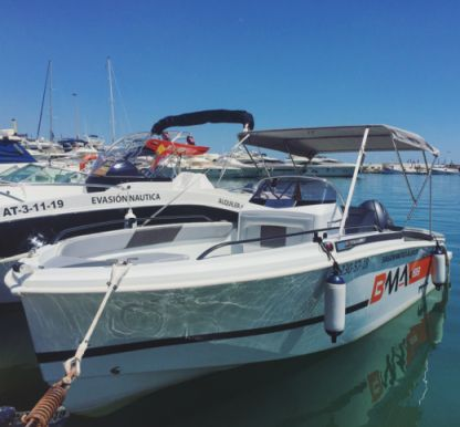 Rental Motorboat Bma X199 Altea