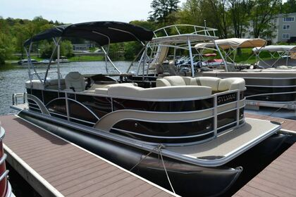 Rental Motorboat Sylvan 8524 Greentown