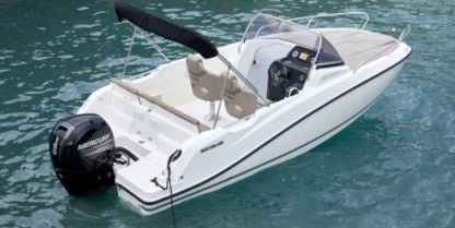 Miete Motorboot Quicksilver Activ 605 Sundeck Cannes