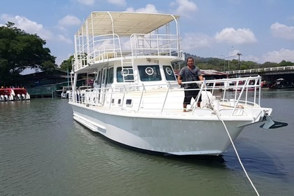 Rental Motorboat Custom Made Fishing Boat B Phuket