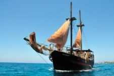 Traditional Ship in Paphos
