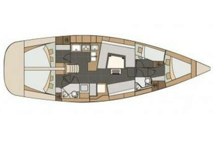 Charter Sailboat Elan Impression 45 Split