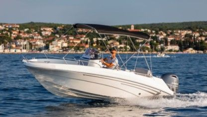 Rental Motorboat Prince 570 Open Malinska