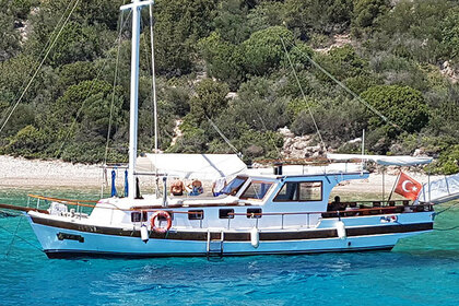 Charter Sailboat Custom Made Angel 2 Bodrum