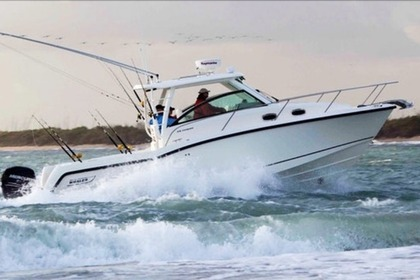 Verhuur Motorboot Boston Whaler 35 Jersey City
