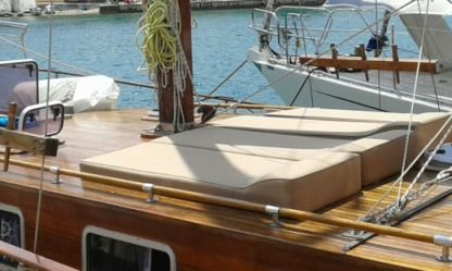 Charter Sailboat Taylor Made Wooden Traditional Galaxidi