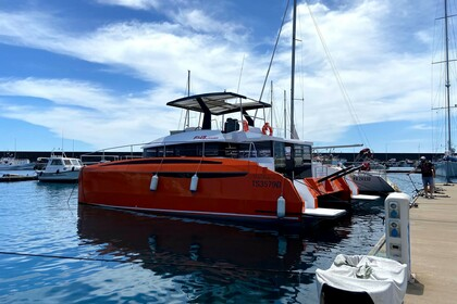 Charter Catamaran Power Catamaran Alpha 43 Riposto