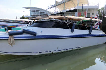 Rental Motorboat Custom Twin Engines 400HP Phuket