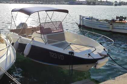Hire Motorboat Quicksilver 675 open ACTIVE Rogoznica