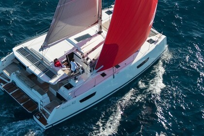 Charter Catamaran Fountaine Pajot Astrea 42 with watermaker Ajaccio
