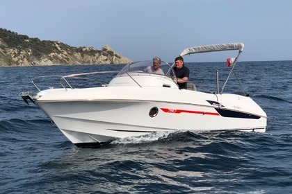 Rental Motorboat Beneteau flyer 7.5 Sanary-sur-Mer