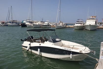 Rental Motorboat Quicksilver Activ 755 Open Dénia