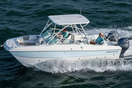 Rental Motorboat World Cat 2008 Road Town