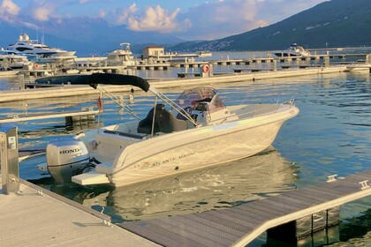 Hire Motorboat Atlantic Marine Open 670 Kotor