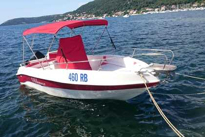 Rental Motorboat Blumax 5.75 Rab
