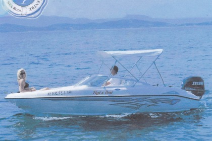 Hire Motorboat Fibrafort 487 Chalkidiki
