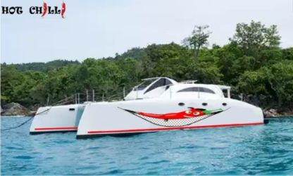 Location Bateau à moteur Asia Catamarans Stealth 38 Power Cat Chalong