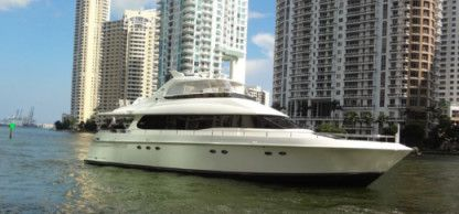 Rental Motorboat Lazzara 76 Fort Lauderdale