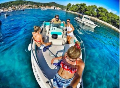 Rental Motorboat Fisherman Magnum 18 Open Zadar