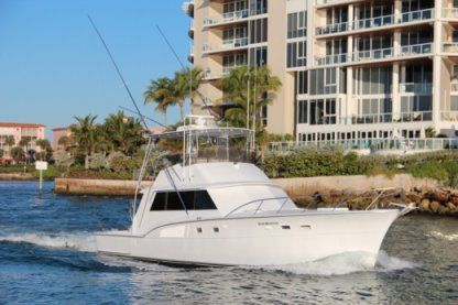 Rental Motorboat Haterras 53 Pompano Beach