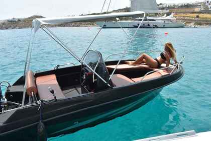 Miete Motorboot Crazy Waters 450 LA Black Edition Mykonos