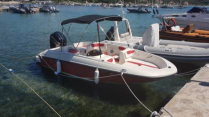 Charter Motorboat Bayliner Element Rab