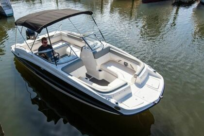 Charter Motorboat Bayliner 190 Deckboat Traverse City