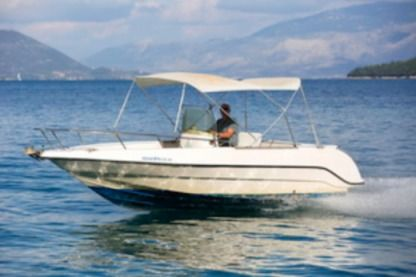Charter Motorboat Cantieri 600 lefkas