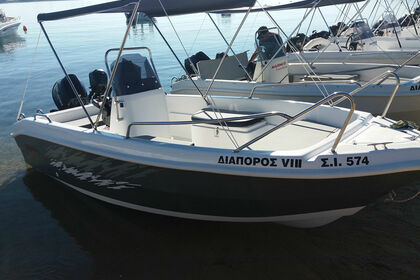 Hire Motorboat BLUELAGOON FF Vourvourou