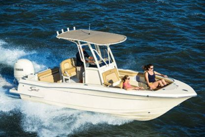 Rental Motorboat Scout 21 Pompano Beach