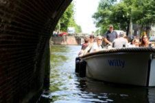 Verhuur Motorboot Sloep Willy Amsterdam