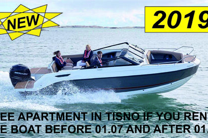 Rental Motorboat QUICKSILVER 755 Bow-rider Tisno