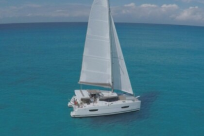 Rental Catamaran Fountaine Pajot Lucia 40 with watermaker Le Marin