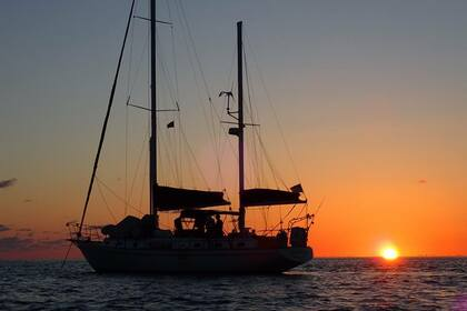 Hire Sailboat Gulfstar Gulfstar Ketch 50 classic sail yacht Charleston