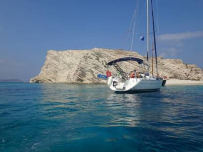 Charter Sailboat Jeanneau Sun Odyssey 42 Chios