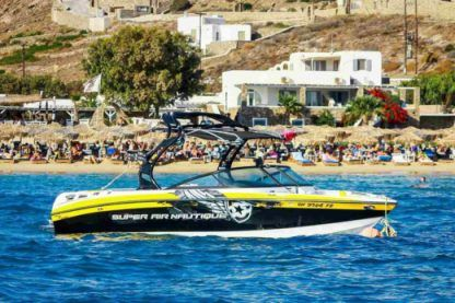 Alquiler Lancha Super Air Nautique 220 Miconos