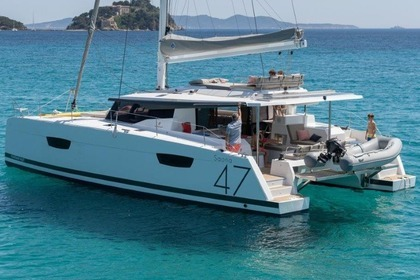 Rental Catamaran Fountaine Pajot Saona 47 Athens