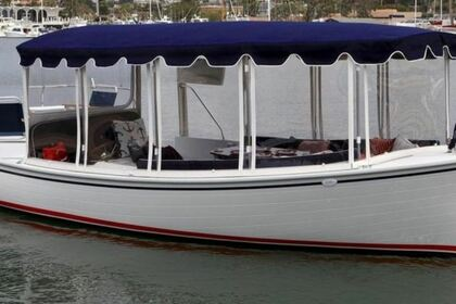 Hire Motorboat Duffy 21' Electric St. Petersburg