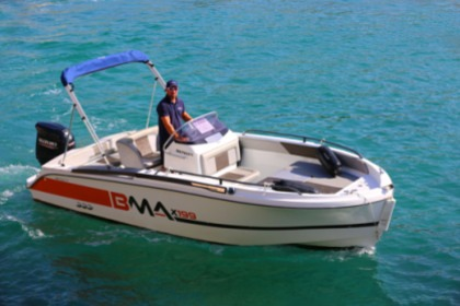 Rental Motorboat Coque Rigide 6m 140CV 7 pers Cassis