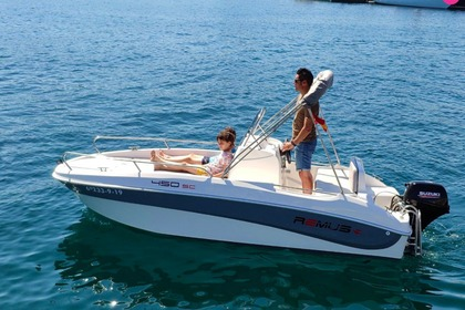 Charter Motorboat remus 450 Palamós