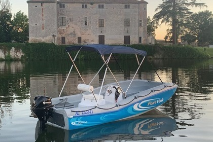 Rental Motorboat FUN YAK SECU 15 Villeneuve-sur-Lot