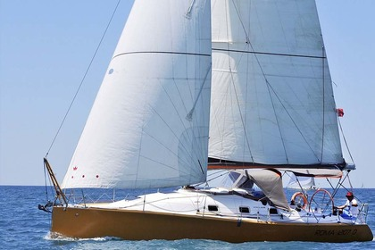Rental Sailboat Rinaldi di Brescia Sintesi 36 Ostia