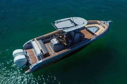 Charter Motorboat Pronautica 33 Open Le Gosier